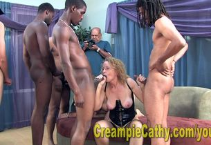 17 Dude Internal ejaculation Cumfest
