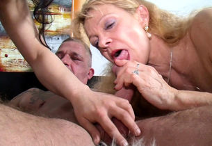 Older German Female Instruct Young..