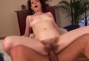 Infatuating unhaved Czech mature chick..