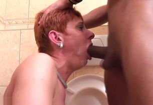 Mature Rest room Pee  pt 5 1080p