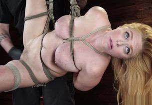 All-natural big-boobed marionette is..