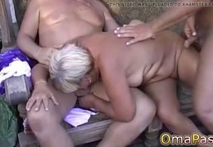 Solo thick huge grandmother and..