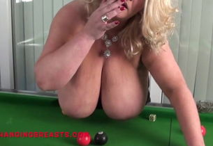 Brit adult movie star Huge-titted..