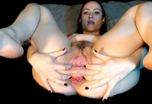 AdalynnX - Muddy Vulva Going knuckle..