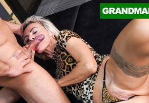 Sluttiest Grandmother Longing for..