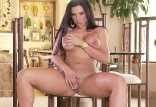 Infatuating chesty latina mature..