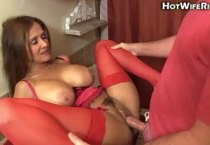 Underwear mother internal ejaculation