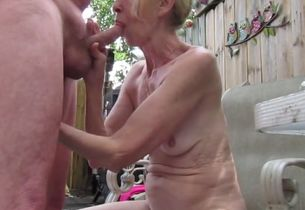Oral interchange and wifey stroking