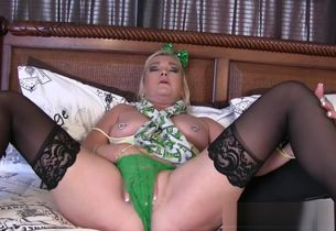 St Patrick's Day Mommy/Son Taboo