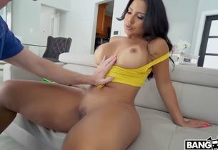 Huge-chested mexican cougar
