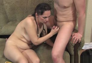 Called a mature nurse at home and plowed