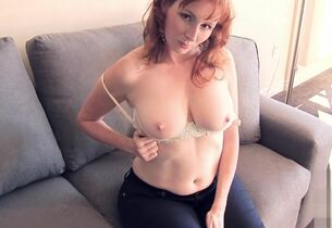 Redhead tie the knot teases forth..