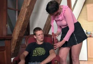 mommy in law entices him