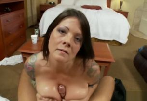 MomPov Nikki - 41 yr senior tatted..