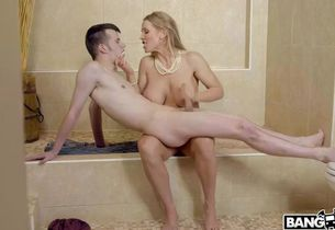 Rebecca more humps her sloppy stepson