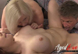 AgedLovE Brit Mature Lacey Starr..
