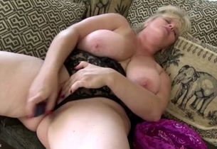 mature aunt-in-law ravages her greedy..